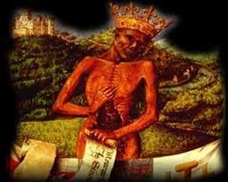 A morte - representação medieval