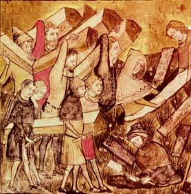 Peste Negra do século XIV