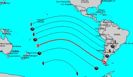 Eclipse sobre a corrente de Humboldt