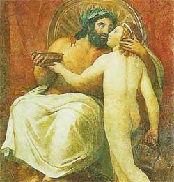 Ganimedes e Zeus
