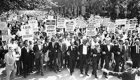 Marcha sobre Washington, 1963