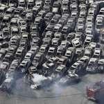 Sendai, Japão: terremoto em Leão, tsunami em Virgem