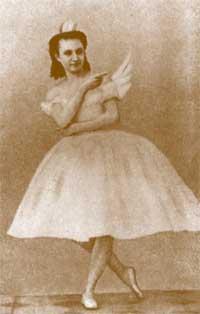bailarina Anna Sobeshchanskaya