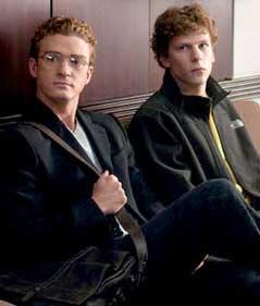Justin Timberlake como Sean Parker.