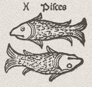Peixes, representação medieval