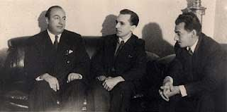 Jorge Amado, Pablo Neruda e Luis Carlos Prestes