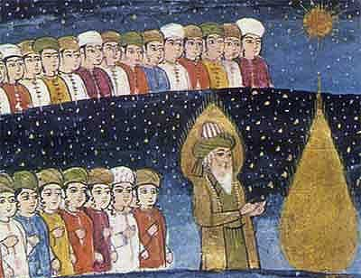 Concepção medieval do paraíso muçulmano