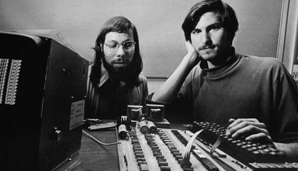 Steve Jobs e Steve Wozniak
