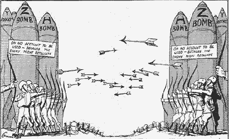 Guerra fria e ogivas nucleares