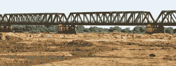 Ponte sobre o Rio São Francisco em Pirapora