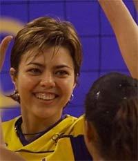 Leila do vôlei, Olimpíadas de 2000