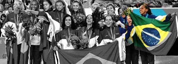 Seleção feminina de vôlei - Olimpíadas de 2000.