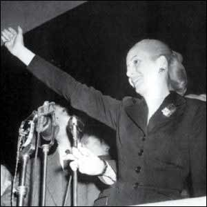 Eva Perón, maior mito argentino.