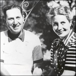 Eva Perón e Juan Domingo Perón