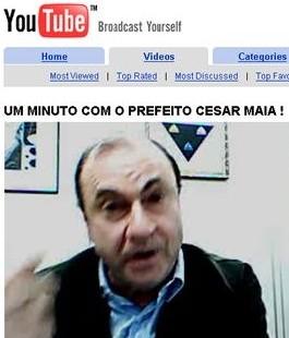 César Maia e seu blog