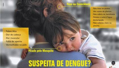 Cartaz da dengue, 2008
