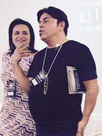 Robson e Luiza Papaleo