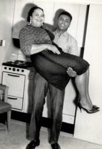 Cassius e a mãe, Odessa Grady Clay