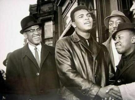 Muhammad Ali e Malcolm X