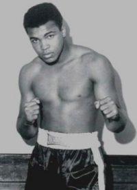 Clay em 1964, com 22 anos
