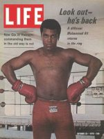 Muhammad Ali de volta após primeira derrota.