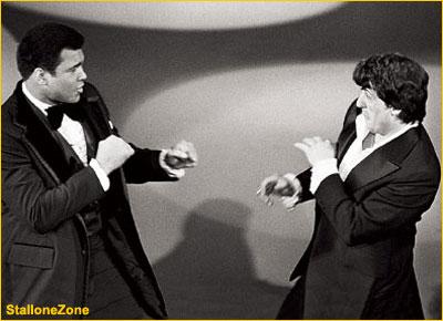 Ali e Sylvester Stallone
