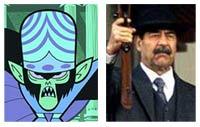 Saddam Hussein e o Macaco Louco