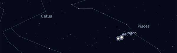 Júpiter-Saturno