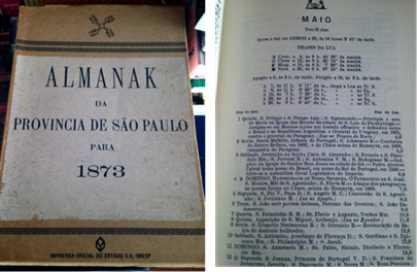 Almanak da Província de São Paulo para 1873