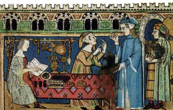 Bancos medievais