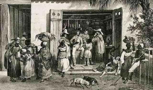 Venda brasileira no tempo do Primeiro Reinado