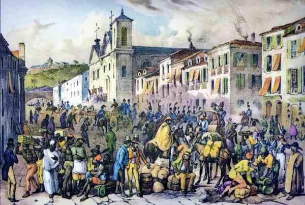 Rua Direita, século XIX, Rio de Janeiro