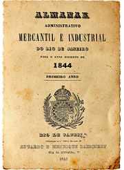 Almanak Laemmert de 1844