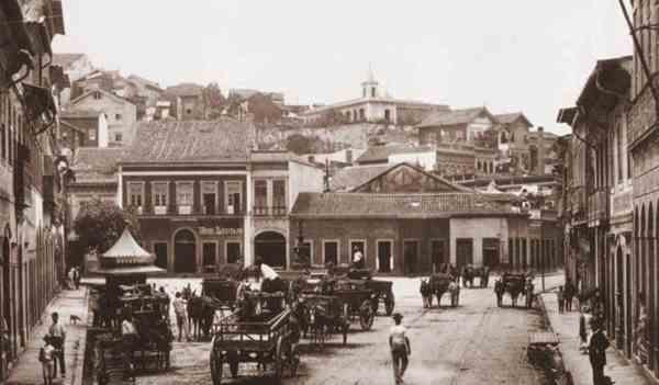Largo do Depósito, Rio de Janeiro, início século XX