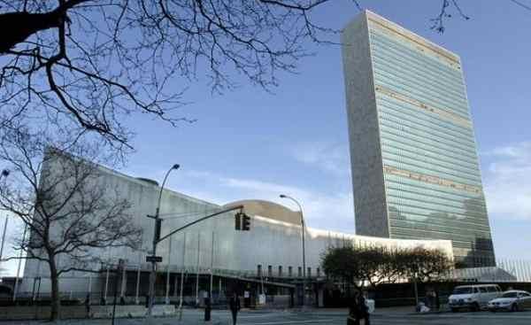 O edifício da ONU, em Nova Iorque