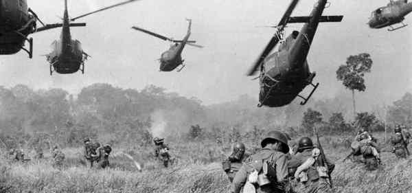 Guerra do Vietnã, helicópteros