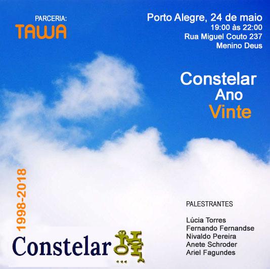 Constelar Ano Vinte - evento em Porto Alegre