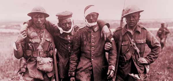 Feridos da Primeira Grande Guerra