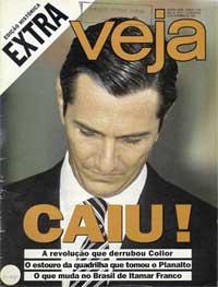 Revista Veja, edição especial, impeachment de Collor