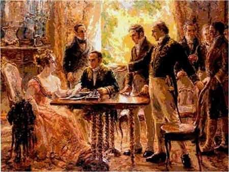 Reunião do Conselho de Estado em 2.9.1822
