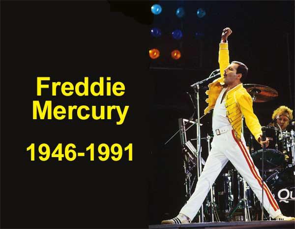 Freddie Mercury, 1946-1991