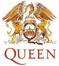 A logomarca do Queen