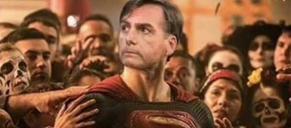 Bolsonaro como Superman