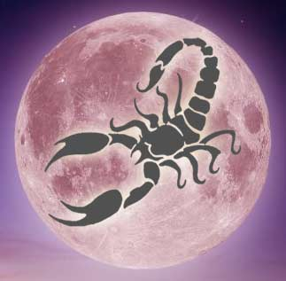 Lua em Escorpião