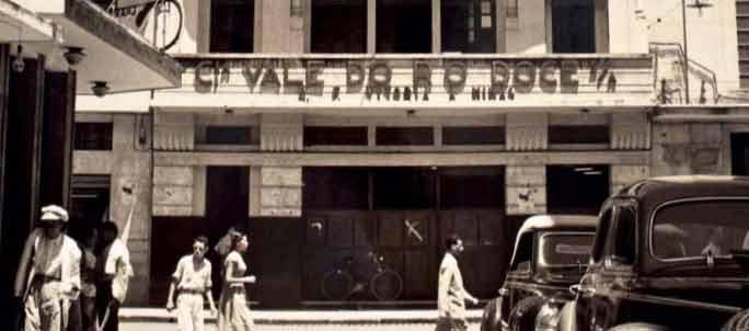 Sede local da Companhia Vale do Rio Doce em Vitória.