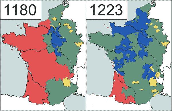 Expansão da França sob Filipe Augusto