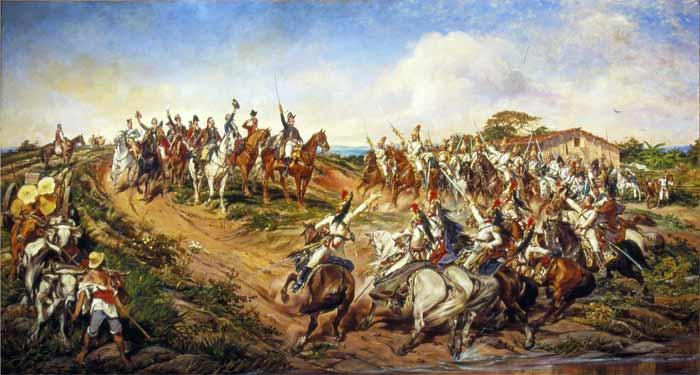 Independência ou Morte, quadro de Pedro Américo, 1888.