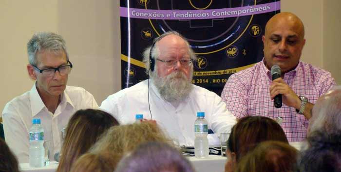 Henrique Wiederspahn, Robert Hand e Adolfo Gerez, Simpósio do Sinarj 2014